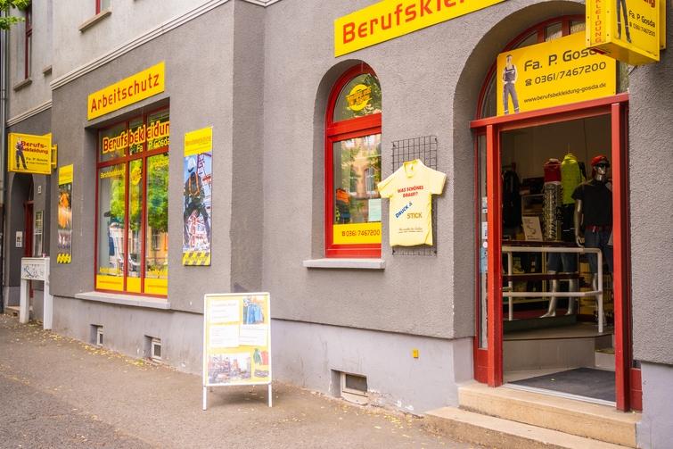 Gosda Berufsbekleidung finden Sie in Erfurt in der Magdeburger Allee